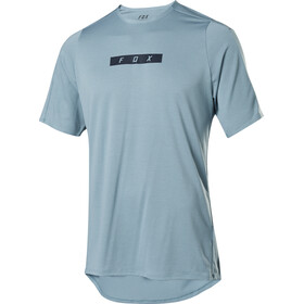 Fox Flexair Delta Maillot Manga Corta Hombre, light blue